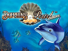 На зеркале Вулкан автомат Dolphin's Pearl Deluxe