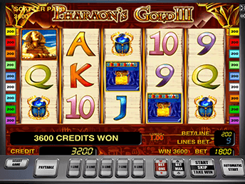 Pharaohs Gold III в Вулкан Платинум