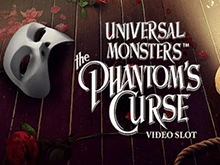 Игра на деньги на слоте Universal Monsters: The Phantom's Curse Video Slot